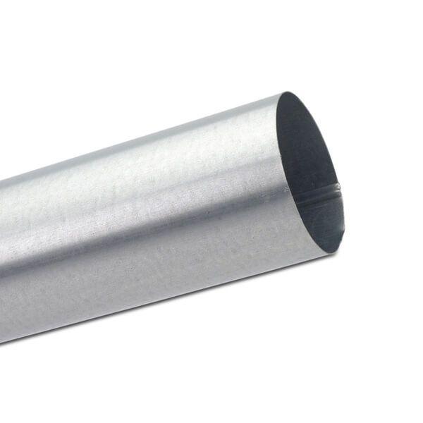 Steel Downpipe - 100mm x 3mtr Galvanised