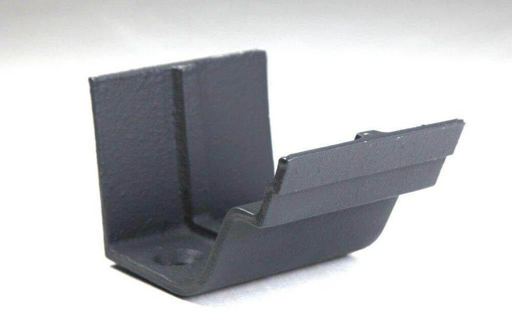 Cast Iron Notts Ogee Gutter Union - 115mm Primed