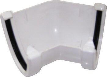 Deepflow/ Hi-Cap Gutter Angle - 135 Degree x 115mm x 75mm White