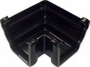 Ogee Gutter External Angle - 90 Degree x 80mm Black