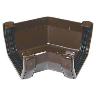 Square Gutter Angle - 135 Degree Brown