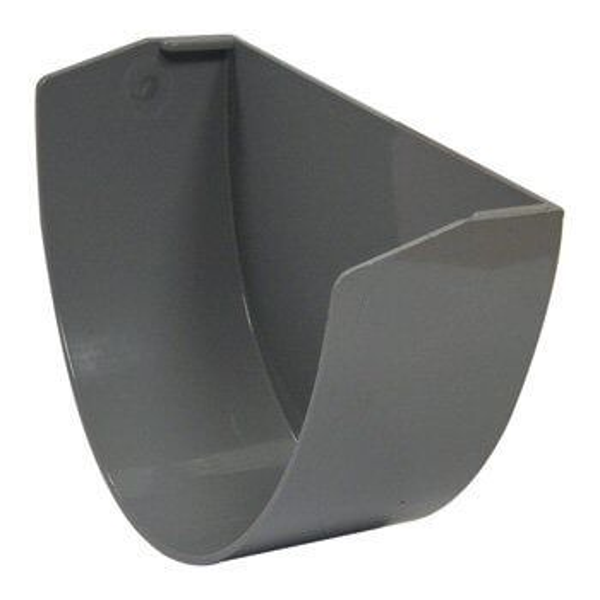 Industrial/ Xtraflo Gutter Internal Stopend - 170mm Grey