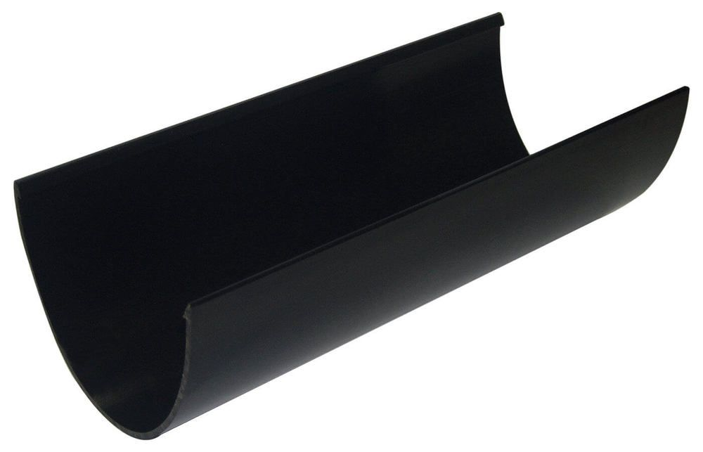 Deepflow/ Hi-Cap Gutter - 115mm x 75mm x 4mtr Black