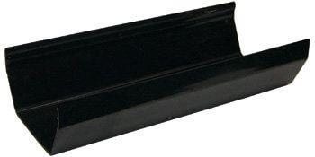 Square Gutter - 114mm x 2mtr Black