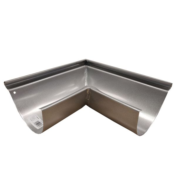 Steel Gutter External Angle - 90 Degree x 150mm Galvanised
