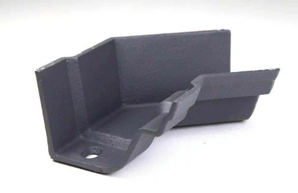 Cast Iron Notts Ogee Gutter Internal Angle - 135 Degree x 115mm Primed