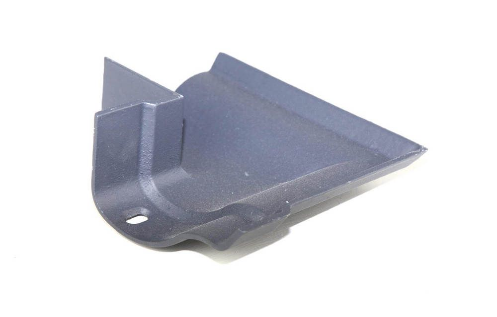 Cast Iron Ogee Gutter External Angle - 90 Degree x 115mm Primed