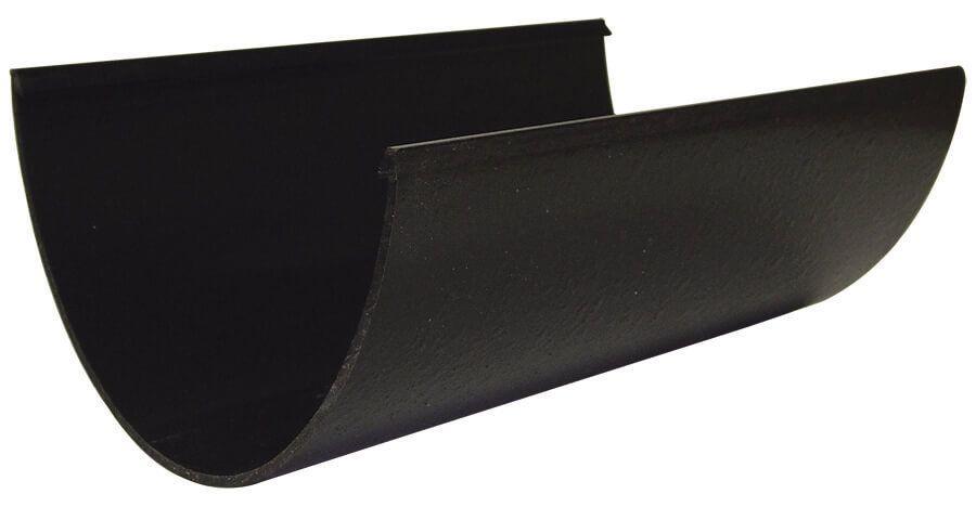 Deepflow/ Hi-Cap Gutter - 115mm x 75mm x 4mtr Cast Iron Effect - OUT OF STOCK