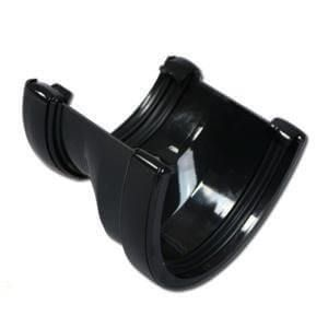 Deepflow/ Hi-Cap to Half Round Gutter Adaptor - Black