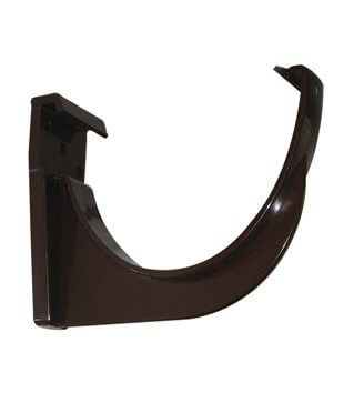 Deepflow/ Hi-Cap Gutter Fascia Bracket - 115mm x 75mm Brown