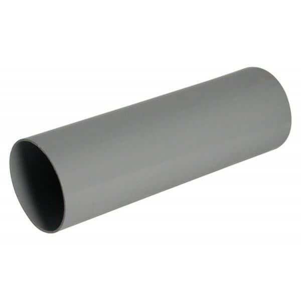 Round Downpipe - 68mm x 2.5mtr Grey