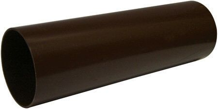 Round Downpipe - 68mm x 5.5mtr Brown