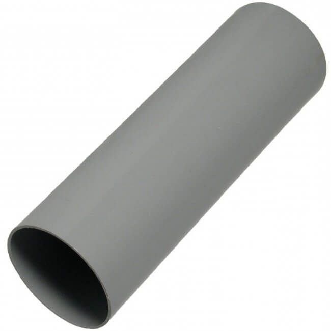 Round Downpipe - 68mm x 5.5mtr Grey