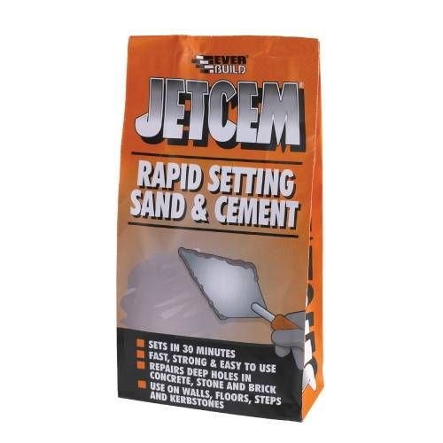 Rapid Setting Sand and Cement - 6kg
