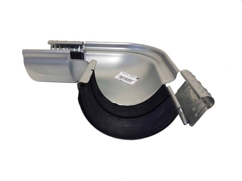 Steel Gutter External Angle - 90 Degree x 100mm Galvanised