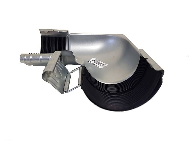 Steel Gutter Internal Angle - 90 Degree x 100mm Galvanised