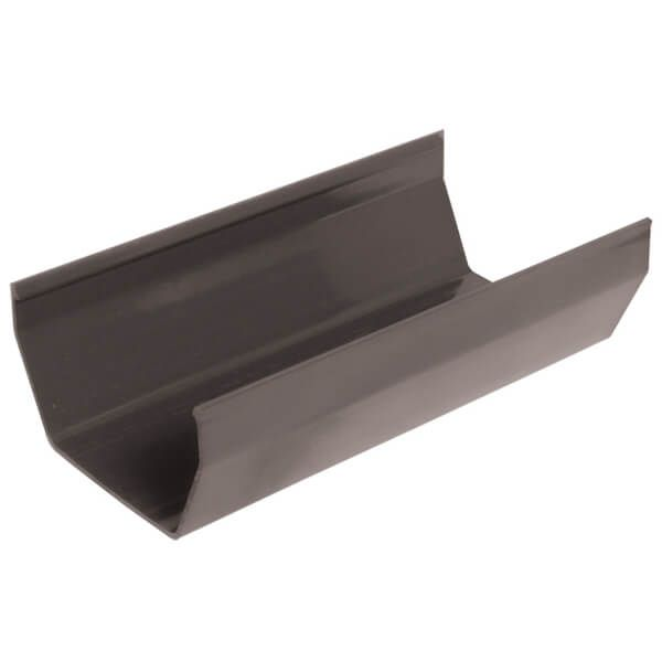 Square Gutter - 114mm x 4mtr Anthracite Grey