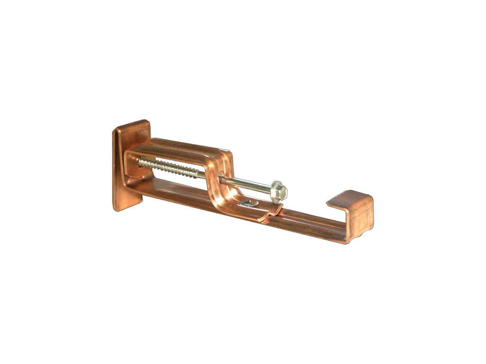 Copper Ogee Gutter Internal Bracket - 127mm