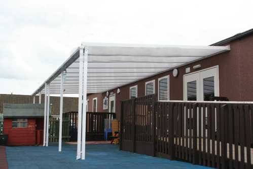 Storm Carport - 6mtr Length x 4mtr Projection
