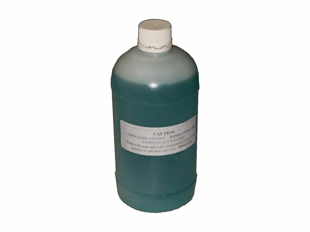 Verdigris Solution - Per Litre