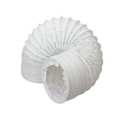 Easipipe Round Ventilation Duct Flexible PVC Hose - 100mm x 6mtr