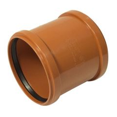 Drainage Slip Coupling Double Socket - 160mm
