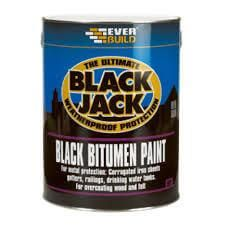 Black Jack Bitumen Paint - 5L