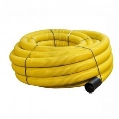 Flexi Duct Perforated - 63mm (O.D.) x 50mtr Yellow Coil