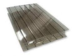 Polycarbonate Sheet Multiwall - 25mm x 600mm x 2mtr Bronze