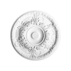 Ceiling Medallion Luxxus Collection - 490mm White