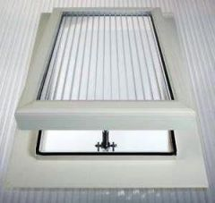 Roof Vent - for 25mm Polycarbonate Sheet White