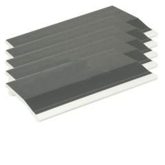 Shiplap Cladding - 150mm x 5mtr Anthracite Grey Woodgrain - Pack of 5