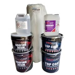 PRO GRP Roofing Kit - for 10SQM Roofs