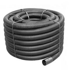 Flexi Duct - 40mm (O.D.) x 50mtr Black Coil