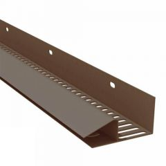 Soffit Vent Strip - 50mm x 2.5mtr Brown
