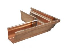 Copper Large Ogee Gutter External Corner - 135 Degree x 152mm