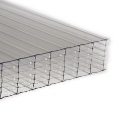 Polycarbonate Sheet Multiwall - 35mm x 700mm x 2mtr Clear