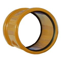 Drainage Slip Coupling Double Socket - 110mm - Pack of 50