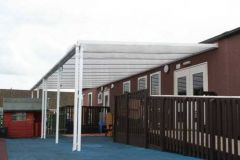 Storm Carport - 2mtr Length x 2mtr Projection