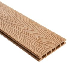 WPC Double Faced Decking Plank Teak - 25mm x 3000mm (L) x 148mm (W)