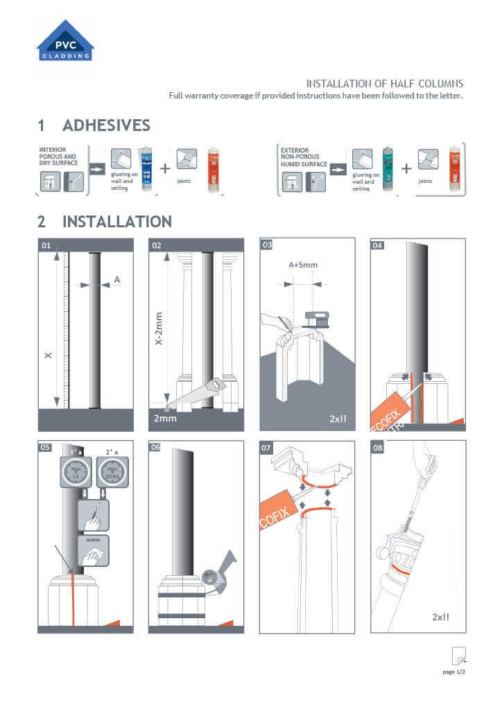 Half Column Installation - Part 1