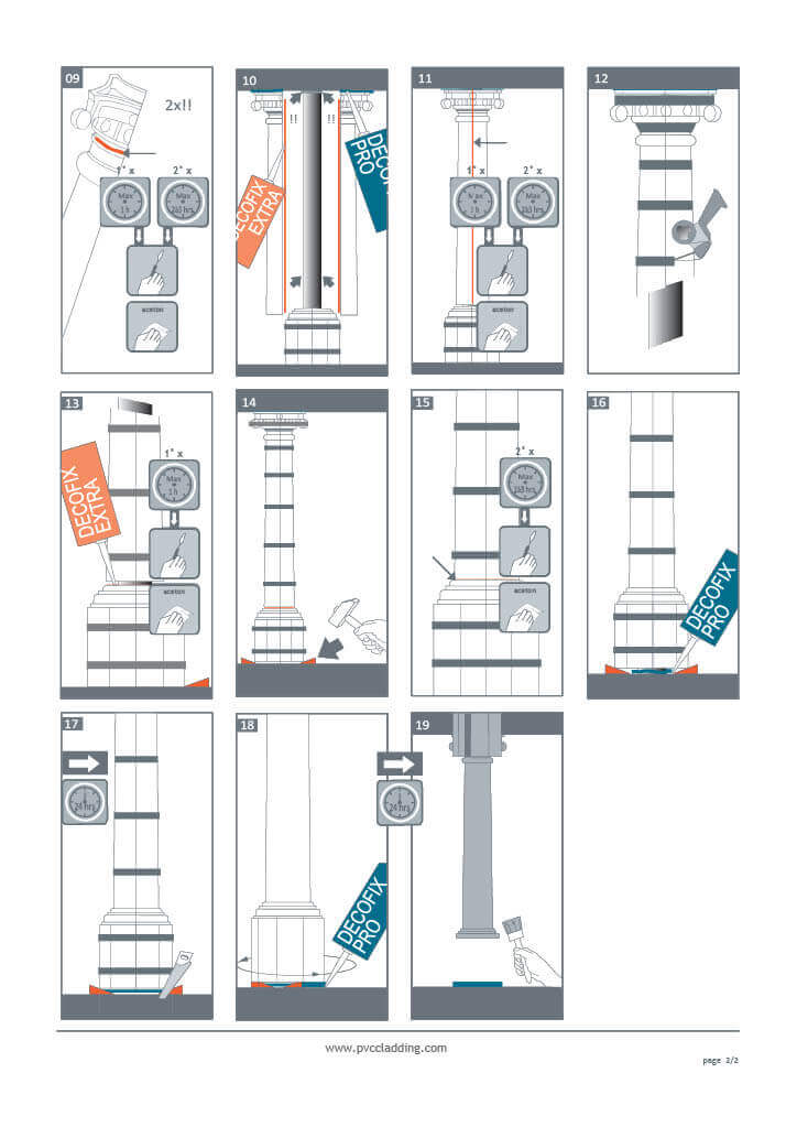 Half Column Installation - Part 2