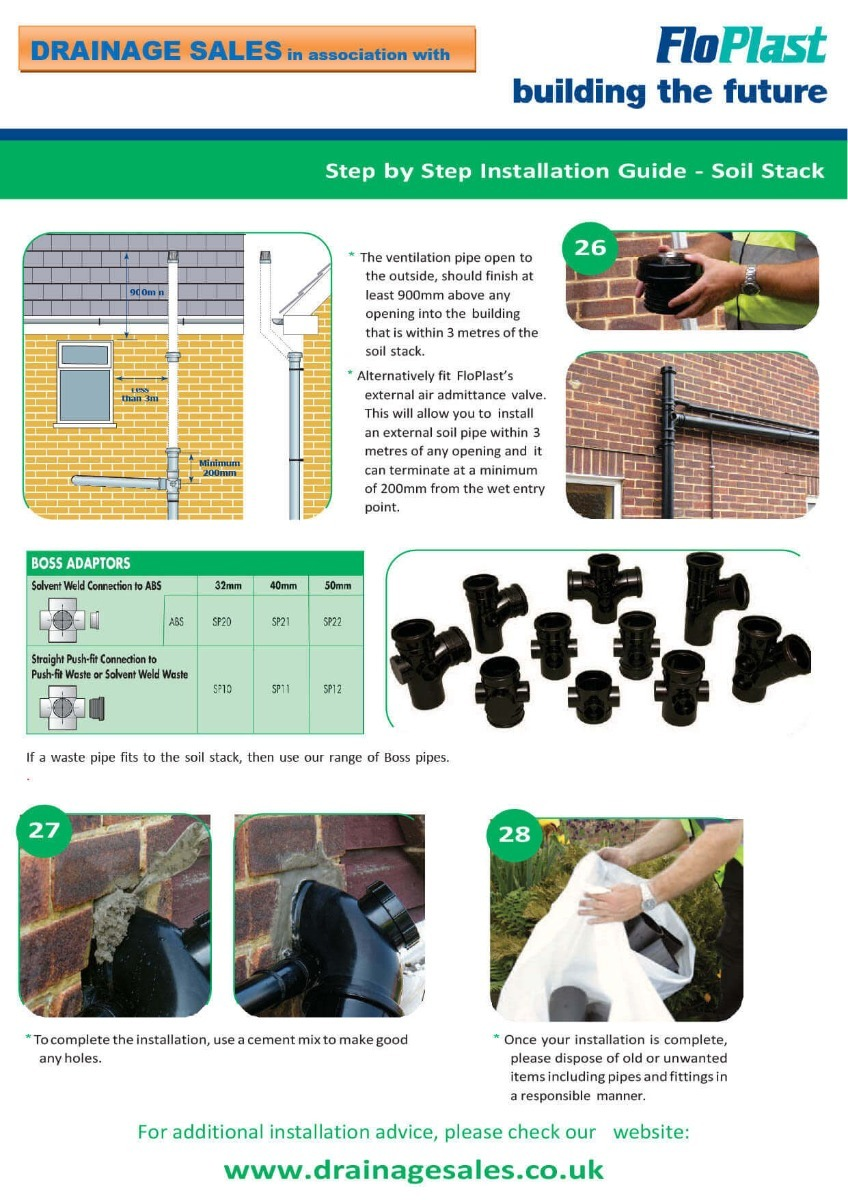 Soil Stack Installation Guide Part 4